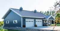 Pole Barns, Cattle Barns, Timber Frame, Garages Millville