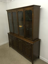 French provincial buffet and hutch  Abbotsford, V2T 2H4