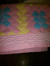 pink, green, and blue plaid textile Roseville, 48066