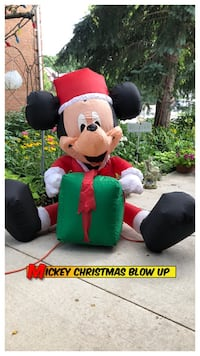 SALE Mickey Christmas Blow Up 5ft Oakville, L6H 3M7