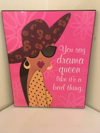 """Alece Birnbach """"You say drama queen like it's a bad thing"""" Plaque"""