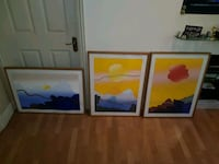 3 painting set. Selling house. Everything must go. Watford, WD17 4UZ