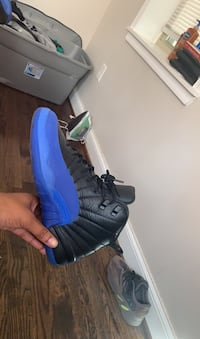 Jordan's Retro 12. Blue  9-21-19 Washington, 20020
