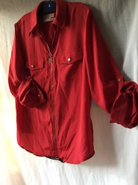 Michael kors size 1X In great condition Red Michael kors Blouse  Los Angeles, 91335