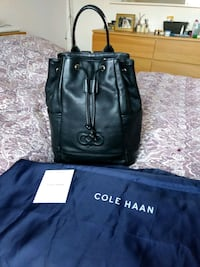Cole Haan leather back pack  Budapest
