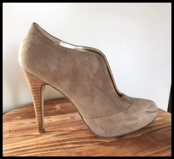 Banana Republic - Tan Suede Ankle Booties - EXCELLENT CONDITION!!