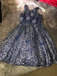 Navy blue sparkly dress Edmonton, T5C 1A1