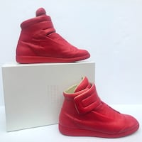 Maison Margiela Red Future Leather High-Top