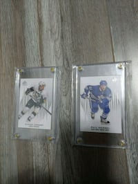 2 hockey collection cards  Toronto, M9W 1J8
