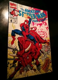 Spiderman Issue Choas in Calgary 1991 Comic  Red Deer