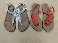Two pairs of sandals size 9 Lakeland, 33810