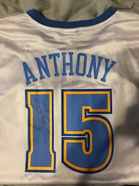 Authentic signed Carmelo Anthony jersey Commerce City, 80640