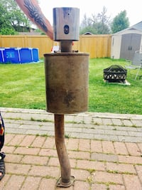 Exhaust and muffler, no leaks, great condition Toronto, M8W 4E8