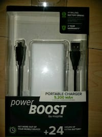 Power Boost , power bank with adapter cor  538 km
