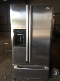 stainless steel french door refrigerator Dallas, 75216