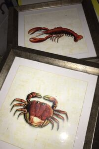 Nautical Artworks Crab & Lobster