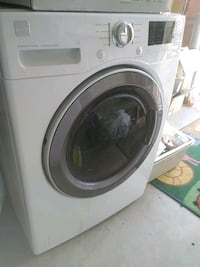 white Samsung front-load clothes washer Albuquerque, 87123