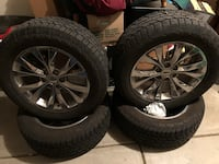 BARELY USED F150 TIRE+RIM COMBO!!