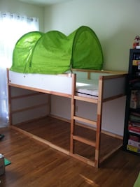 ​IKEA KURA BUNK BED WITH CANOPY TENT​