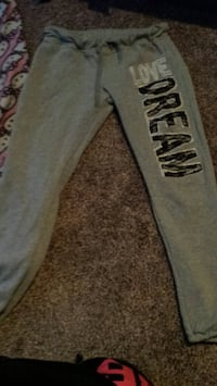 gray and black Pink by Victoria's Secret pants Hobart, 46342