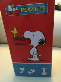 Cool Peanuts Snoopy, Charlie Brown, Woodstock Vase