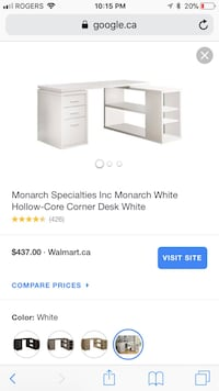 Monarch corner desk, Home office, office desk, workstation