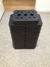 10 Pound Weight Stack Plates