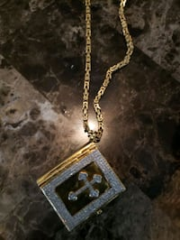 10k gold chain with bible