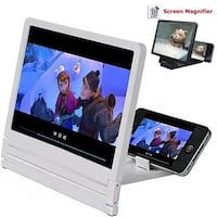 Freeshipping Hot 3D Mobile Phone Screen Enlarged Video Amplifier Ajax