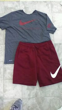 Nike cotton shorts XL, WSU dri-fit shirt XXL Everett, 98201