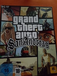 Grand Theft Auto San Andreas PC DVD Hülle Kornwestheim, 70806