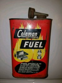 1950's Coleman Fuel Can  Oklahoma City, 73107