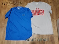2  adult small  under arm shirts. Thurmont