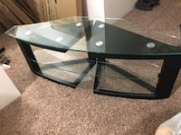 Three level glass table. Great quality and condition Virginia Beach, 23451