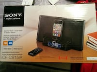 Sony i-Pod clock and dock Mississauga, L4Y 1E3