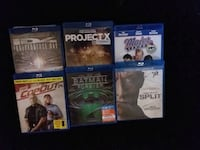 six assorted PS4 game cases Garland, 84312