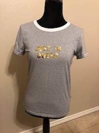 gray crew-neck t-shirt McAllen, 78504