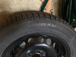 4 winter Michelin tires with rims (sold vehicle they were on)