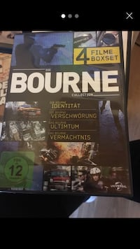 4 filme box Die Bourne collection Bingen am Rhein, 55411