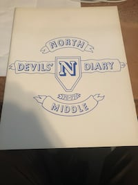 North middle school yearbook Martinsburg, 25401
