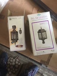 Exterior lamp post and side light price is firm Vaughan, L6A 1E8