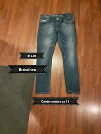 blue denim straight-cut jeans Fort Erie, L2A 1H2