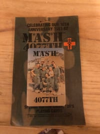 MASH ANNIVERSARY PLAYING CARD Felton, 17322