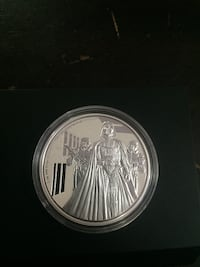Collector 2016 star wars silver coin  Calgary, T3A 1R2