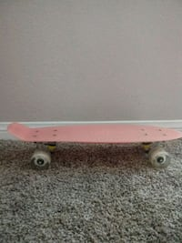 pink penny board Los Angeles, 90012