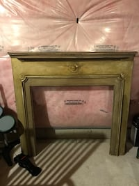 full sized fireplace wooden antique  mantle Vaughan, L6A 0Z3