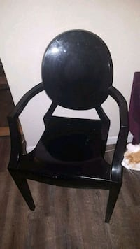 Black acrylic ghost chairs  Las Vegas, 89101