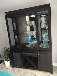 brown wooden cabinet with mirror Toronto, M9V