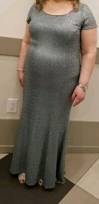 Gray long dress L-XL dress  Toronto, M9V 5H5