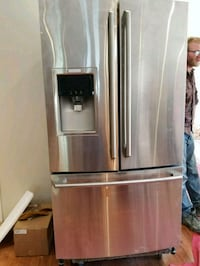 stainless steel french door refrigerator Vaughan, L4J 5E3